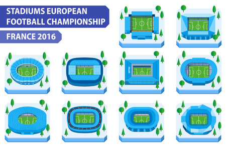 toulouse: France 2016. Stadiums european football championship