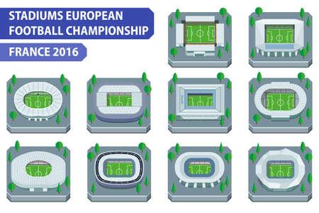 toulouse: Stadiums european football championship. France 2016