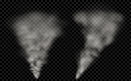 translucent: Translucent white smoke. Transparency only in vector file