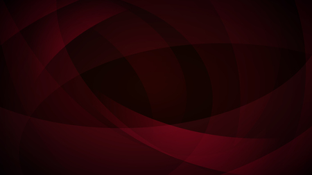 curved lines: Abstract background of curved lines in dark red colors