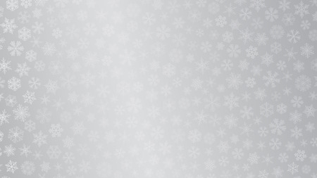gray colors: Christmas background of small snowflakes in gray colors Illustration