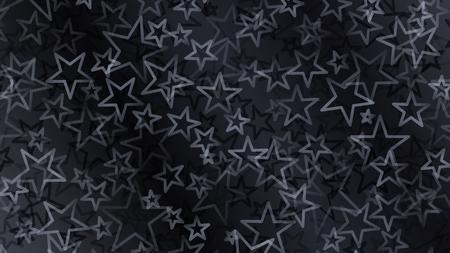 estrellas cinco puntas: Resumen de fondo de las pequeñas estrellas en colores negros