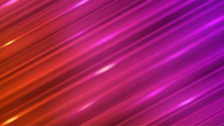Abstract background of straight inclined lines with glares in red and purple colors Иллюстрация