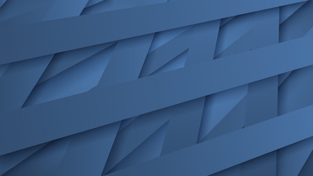 intertwine: Abstract background of interwoven light blue stripes with shadows