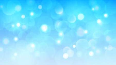 Abstract background with bokeh effects in light blue colors 向量圖像