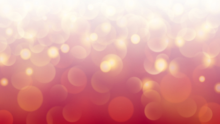 Abstract light background with bokeh effects in red colors