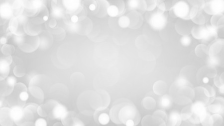 Abstract light background with bokeh effects in gray colors