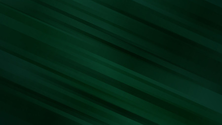 Abstract background with diagonal lines in dark green colors