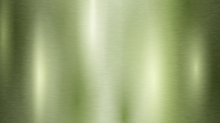 Abstract background with metal texture in light green color Illustration
