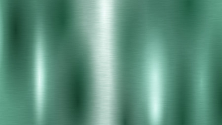 Abstract background with metal texture in turquoise color