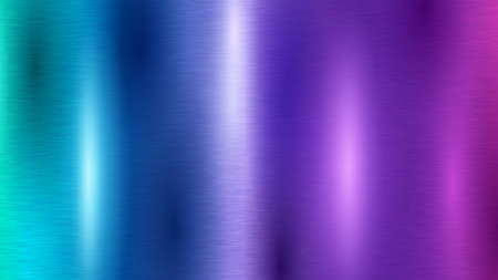 Abstract background with colored metal texture