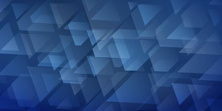 Abstract  of intersecting triangles and polygons in blue colors