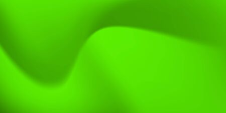 Abstract background with wavy surface in green colors