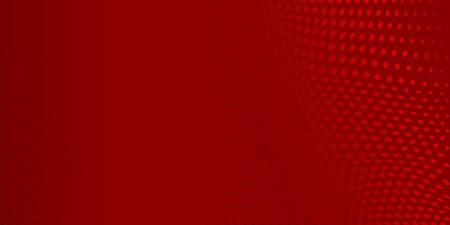 Abstract background made of halftone dots in red colors