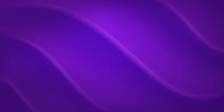 Abstract background with wavy surface in purple colors