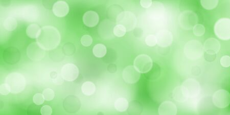 Abstract background with bokeh effects in light green colors 向量圖像