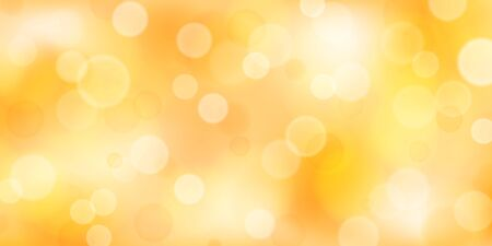 Abstract background with bokeh effects in yellow colors 向量圖像