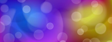 Abstract colorful background with bokeh effects