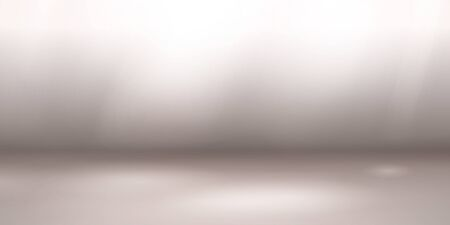 Empty studio background with soft lighting in gray colors