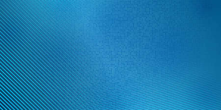 Abstract halftone background made of dots and lines in blue colors 矢量图片