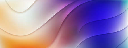Abstract colored background with relief wavy surface Ilustração