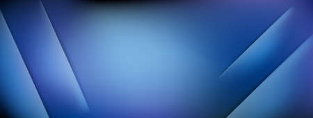 Abstract background with incisions in blue colors