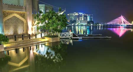 lake side Putrajaya Reklamní fotografie