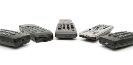 remote controls: Five remote controls