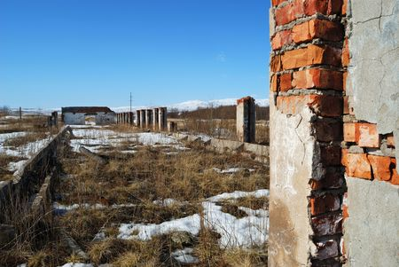agrarian: Ruins of agrarian building