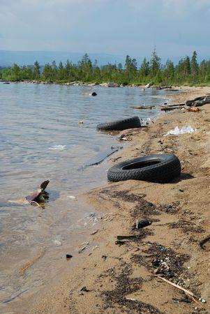 careless: Lake coastline