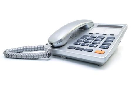 Silvery phone