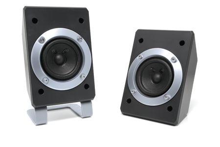 loud speakers: Two small loud speakers.