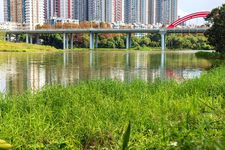 Shenzhen Honghu Park 版權商用圖片