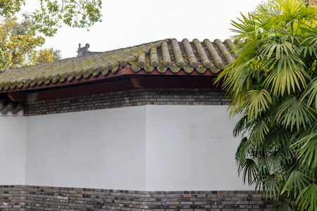 Ancient building wall