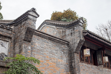 Antique building wall