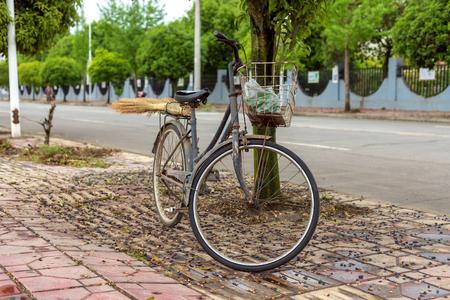 Used bicycle 免版税图像