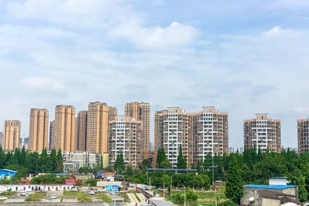 Chengdu City Buildings, Sichuan