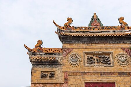 Ancient architecture roof