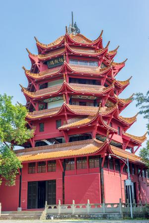 Building, Drum Tower, Deyang, Sichuan, China