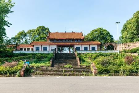 Ancient building entrance