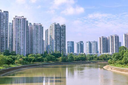 Chengdu Jinjiang architectural scenery