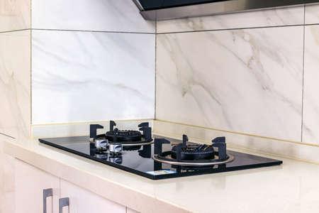 Indoor kitchen stove