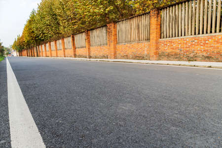 Asphalt road surface Banco de Imagens