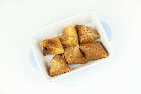 Zongzi on the plate