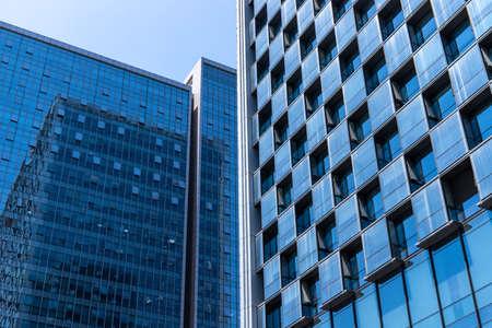 Urban high-rise office building curtain wall