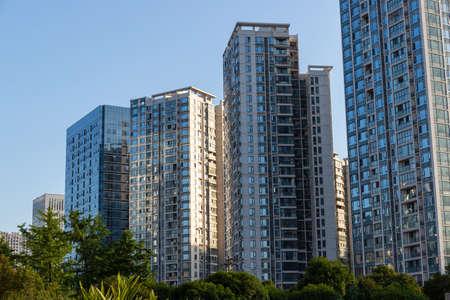 Urban high-rise housing apartment building