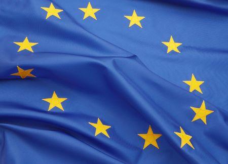 European Union Flag Фото со стока - 3847480