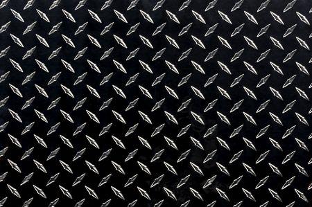 pisada: Hoja de placa de diamante negro con textura resaltado Foto de archivo
