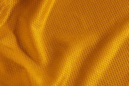 Close up colpo di maglia arancione testurizzati calcio Archivio Fotografico - 6042418