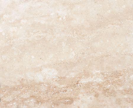 close up shot of pink travertine marble fills frame